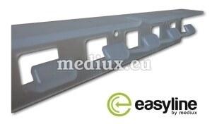 Wandhalterung aus Kunststoff PVC – EasyLine